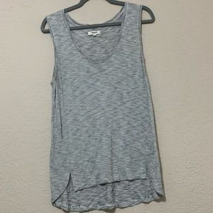 Madewell Women Anthem tank top size Large